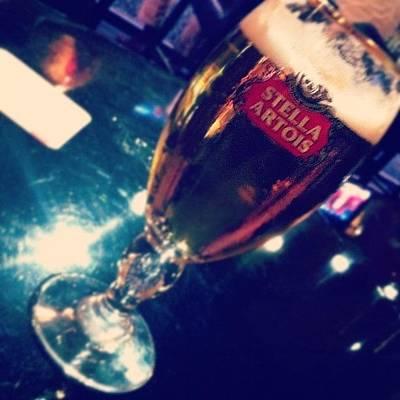 Beer Wall Art - Photograph - #stella #artois #yolo #classy #golden by Raks Nation