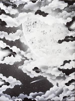 Stellar Moon Art Print by Stephen Ford
