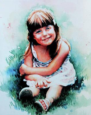 Stephanie Art Print by Hanne Lore Koehler