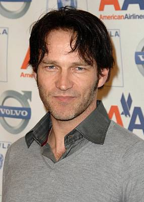 Stephen Moyer At Arrivals For The 2009 Art Print