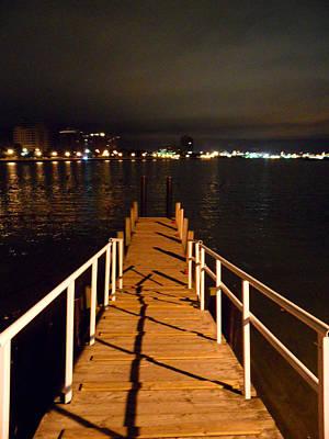 Stratford City Photograph - Stepping Dock 2 by Cyryn Fyrcyd