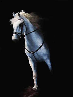 Tack Painting - Stepping Into The Spotlight by Kayleigh Semeniuk
