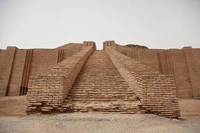 Ancient Mesopotamia Photograph - Steps Of The Ziggurat Of Ur Built by Everett