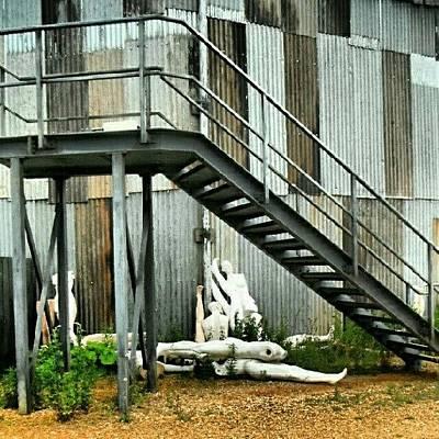 #steps #stairs #fireescape #dummies Art Print