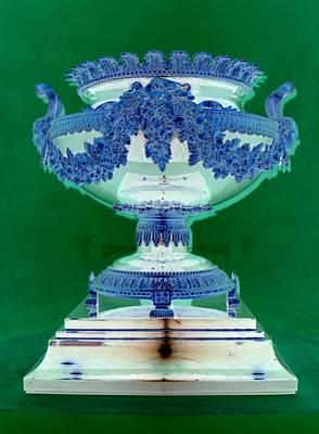Sterling Digital Art - Sterling Urn by Randall Weidner