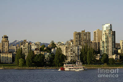 Photograph - Sternwheeler Vancouver Canada by John  Mitchell