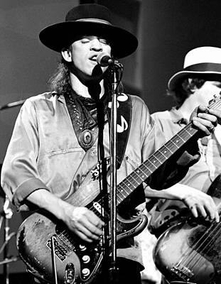Photograph - Stevie Ray Vaughan #1 by Chris Walter