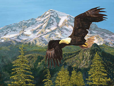 Painting - Still Flying High by William Frew