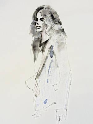 Michael Jackson Painting - Still by Hitomi Osanai