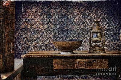 Textured Photograph - Still Life - Antiques by Sari Sauls