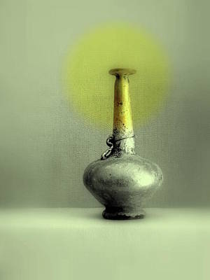 Photograph - Still Life - Genie Vessel by Kathleen Grace