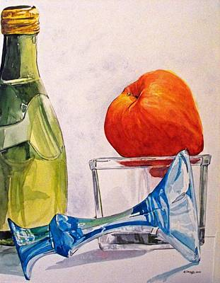 Still Life 2 Art Print by D K Betts