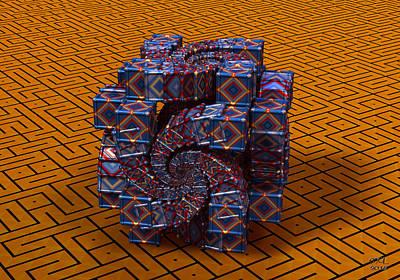 Digital Art - Still Life II by Manny Lorenzo