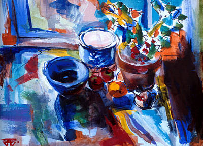 Painting - Still Life by John Jr Gholson