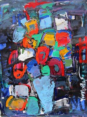 Still Life On Dark 05 Art Print