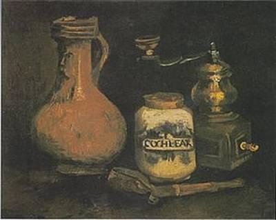 Still Life Paintings By Vincent Van Gogh Art Print by Van Gogh