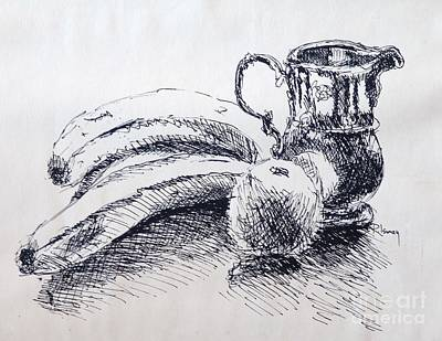 Drawing - Still Life by Rod Ismay
