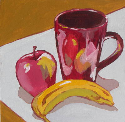 Painting - Still Life With Banana by Sandy Tracey