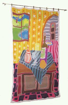 Still Life With Pear Art Print by Rollin Kocsis