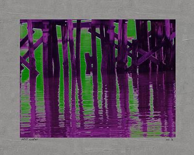 Still Water Art Print by Rene Crystal