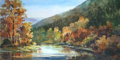 Painting - Still Water Runs Deep by Tina Bohlman