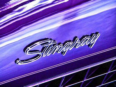 Stingray Art Print by Bill Robinson