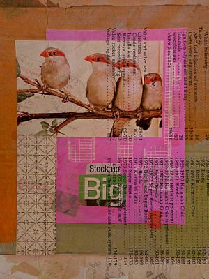 Stock Up Big Art Print by Adam Kissel