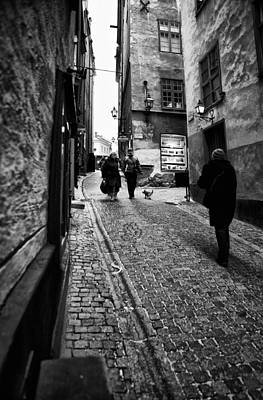 Business Beauties Photograph - Stockholm Old Town by Stelios Kleanthous