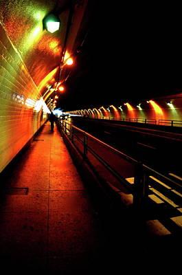 Photograph - Stockton Street Tunnel by Valerie Rosen