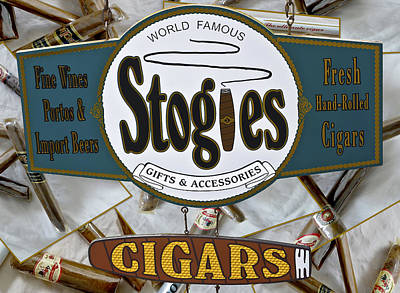 Stogies Art Print by DigiArt Diaries by Vicky B Fuller