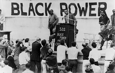 Extremist Photograph - Stokely Carmichael Speaking by Everett