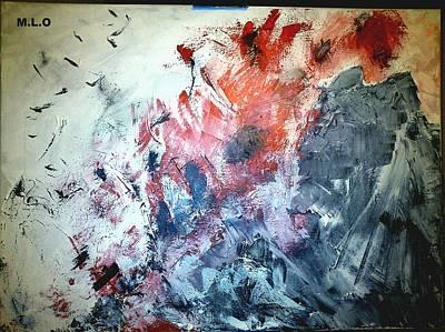 Stolen Kisses Art Print by Montserrat Lopez Ortiz