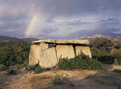 Megalith Photograph - Stone Age Megalithic Tomb by Bjorn Svensson