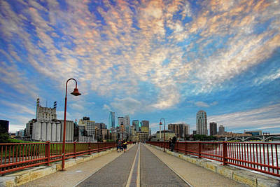 Photograph - Stone Arch Bridge by Rick Berk