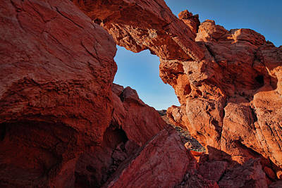 Valley Of Fire Wall Art - Photograph - Stone Arch by Rick Berk