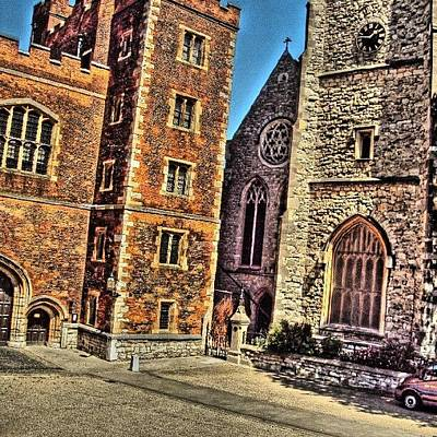 London2012 Photograph - Stone Buildings, So Classic And Lovely by Abdelrahman Alawwad