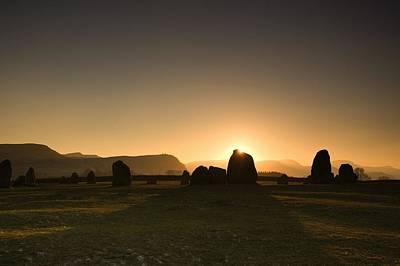English Rock Groups Photograph - Stone Circle by John Short