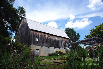 Photograph - Stone Cottage Barn by Grace Grogan