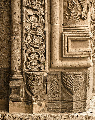 Photograph - Beysehir, Turkey - Stone Detail by Mark Forte