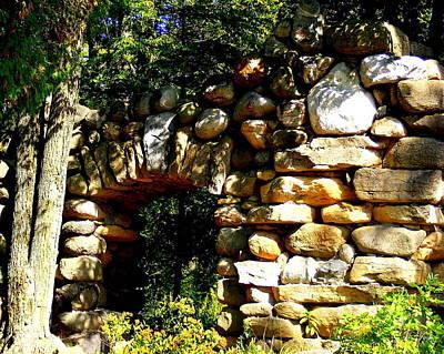 Photograph - Stone Door Way by Ms Judi