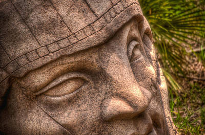 Photograph - Stone Face by Joetta West