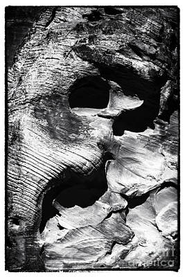 Photograph - Stone Face by John Rizzuto