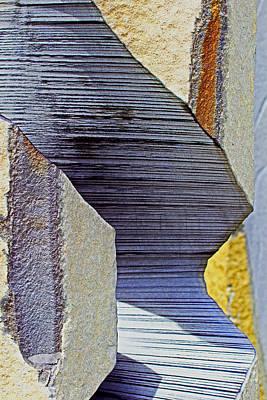 Stone Geometrics Art Print