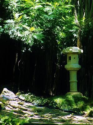 Ishidoro Photograph - Stone Lantern by Craig Wood