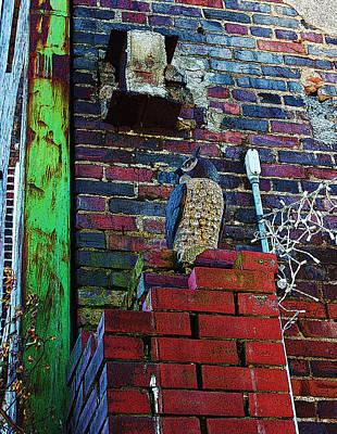 Stone Owl Art Print by Bob Whitt