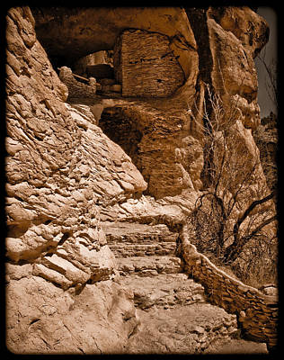 Photograph - Stone Stairway by Mark Forte