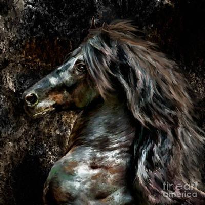 Stallion Photograph - Stone Stallion by Patty Hallman