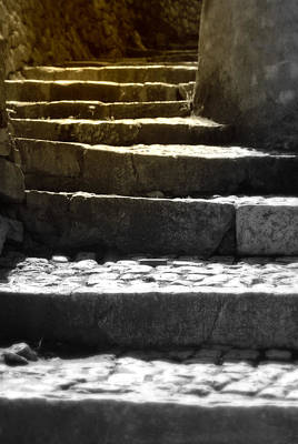 Photograph - Stone Steps by Emanuel Tanjala