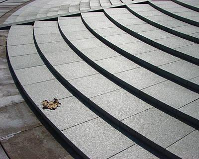 Stone Steps_pyeongchon Park_anyang_south Korea Art Print by Jon William Lopez