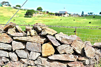 Photograph - Stone Wall by Joanne Kocwin